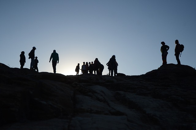 silhouette groupe